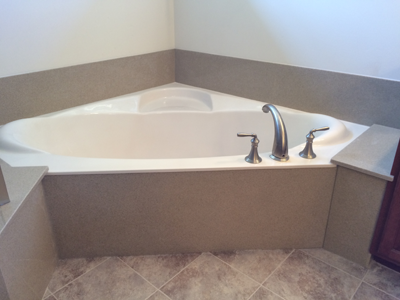 Corner Bathtub Installer Bathroom Remodeling Photo