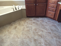 ceramic bathroom tile contractor