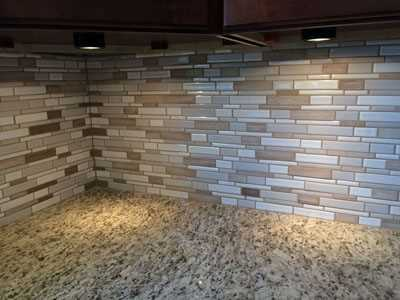 contemporary tile backplash updates kitchen lg