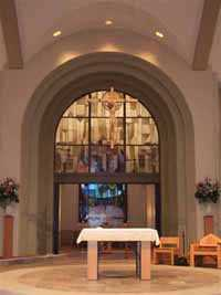 church foyer and interior painting